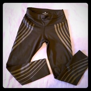Athleta Gel Sonar Capri Crop Run Leggings  XXS